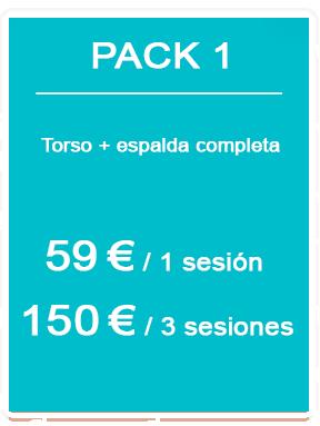Pack depilación láser masculina 1
