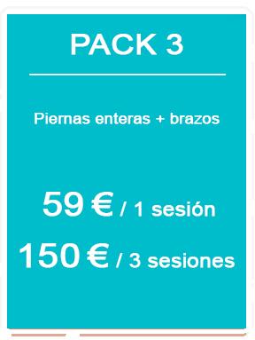 Pack depilación láser masculina 3