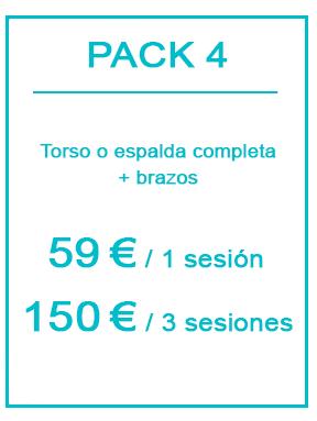 Pack depilación láser masculina 4