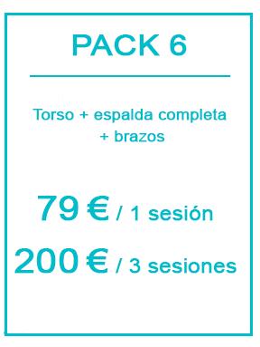 Pack depilación láser masculina 6