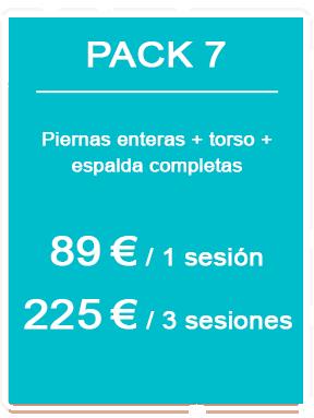 Pack depilación láser masculina 7